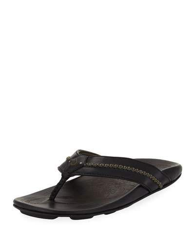 9af7ba520422 Men s Mea Ola Leather Thong Sandals