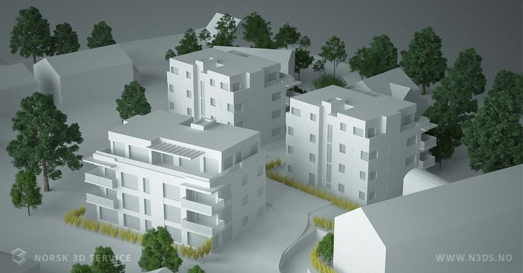 The power of 3dmodel. This is how we get from concept to implementation. Simple buildings and low poly.