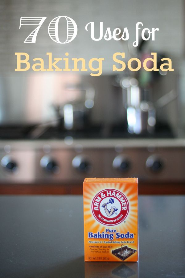 70 Ways to Use Baking Soda in the Home and Garden
