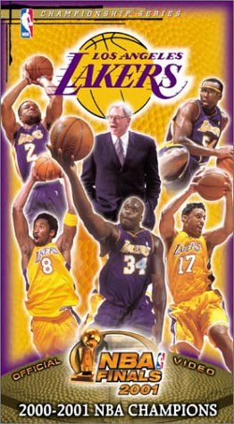 2001 NBA Finals Los Angeles Lakers Championship Video [VHS] - http://weheartlakers.com/lakers-store/2001-nba-finals-los-angeles-lakers-championship-video-vhs