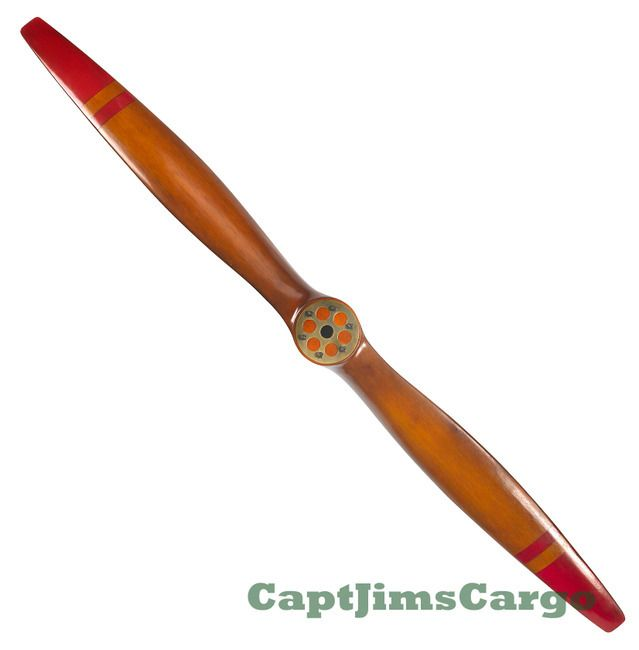 Reproduction wwi wood airplane propeller 73 decorative for Airplane propeller decoration