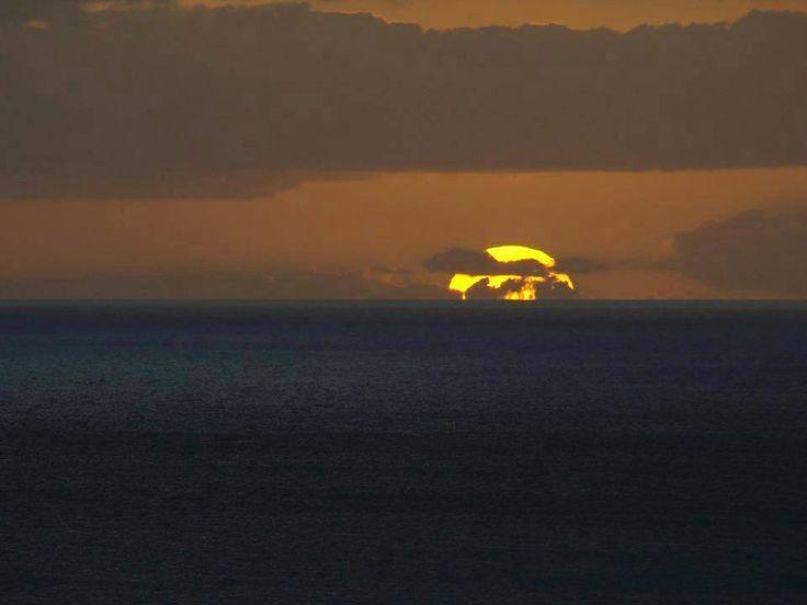 Iowa Hawkeye sunset