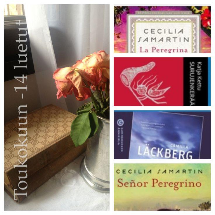 Books, lovely moment! Toukokuun luetut
