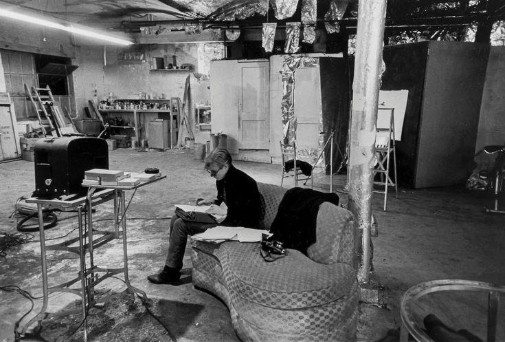 Nat finkelstein 1933 2009 andy warhol in the factory - Silver la porta di liv ...