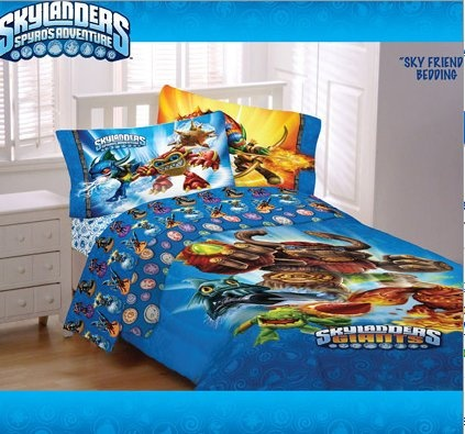 Skylanders Bedding Is A Perfect Bedroom Theme For Your Little Gaming Kid.  With Bright Bold Designs And Soft, Easy Care Fabric, Skylanders Bedding  Rules!