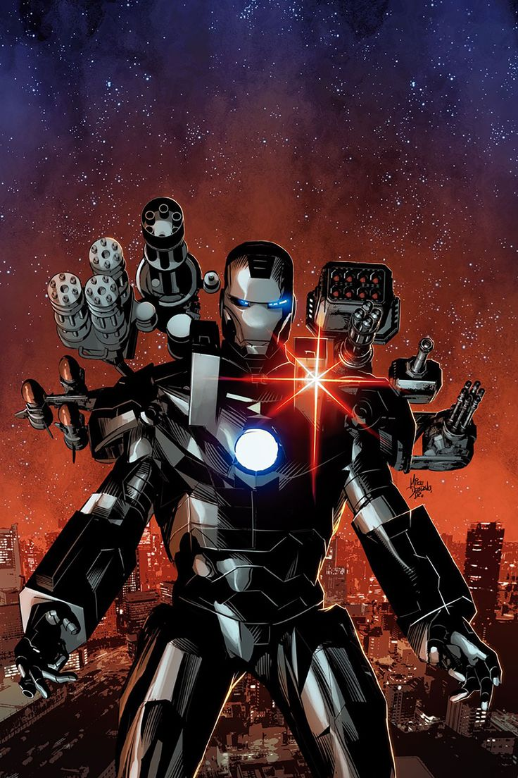 Invincible Iron Man #6 By Mike Deodato