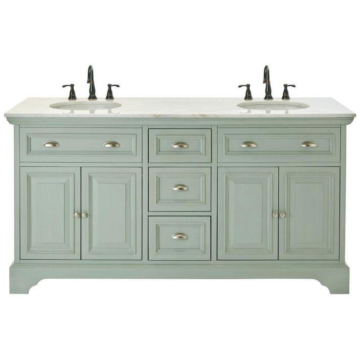 Home Decorators Collection Sadie 67 In Double Vanity In