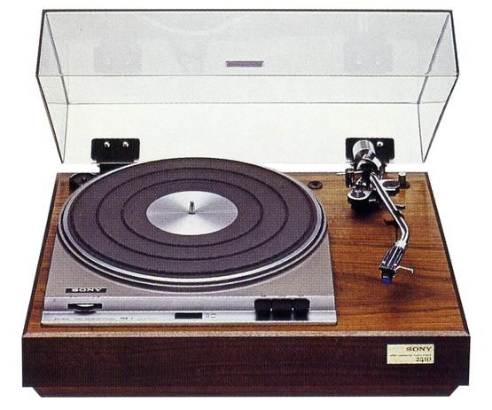 Sony Ps 2410 1973 1974 Vintage Turntable Pinterest
