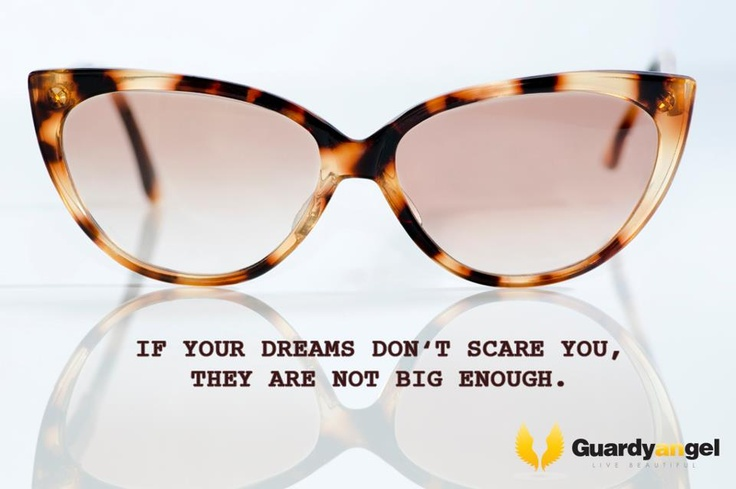 If Your Dreams Don't Scare You,They Are Not Big Enough.  cat eYe sunglasses  vintage EYEWEAR    I would like these glasses to be your guardian angel through which you see a human being in front of you, regardless of religion, culture, color or nationality. They will not only protect you from the sun. They will help you to live beautiful.