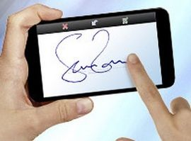 TOUCH this image: Kofax launches e signature solution & Property title info... by Mark Bordcosh