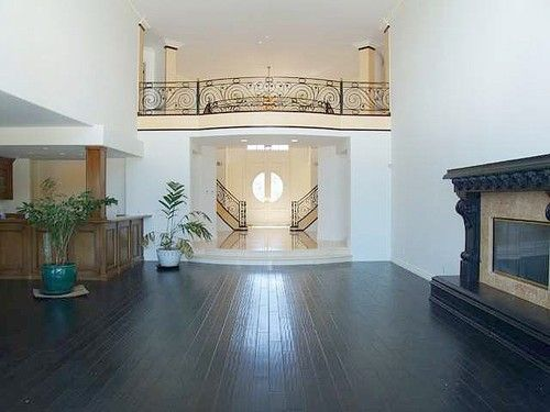 Looking Toward Foyer Inside Jenni Rivera's Hilltop Mansion