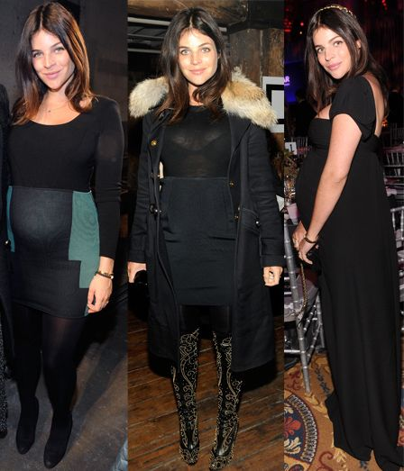 An Ode To Kristin Cavallari, Sienna Miller and Julia Restoin-Roitfeld's Edgy Bump-Friendly Style : Dressed