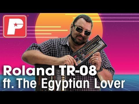 Roland TR-08 Drum Machine demo ft. The Egyptian Lover (King of the TR-808) - YouTube