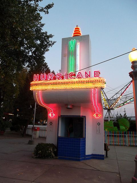 Hurricane Ticket Booth, Lakeside Amusement Park by atjoe1972, via Flickr