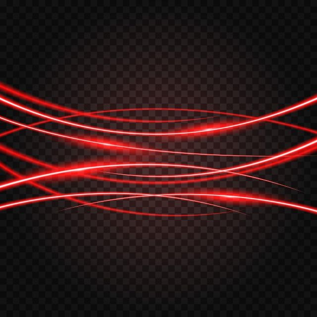 Abstract Red Laser Beam Light Effect Illuminated On Transparent Background Electricity Illuminated Magic Png And Vector With Transparent Background For Free Poster Background Design Transparent Background Color Vector