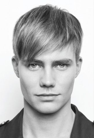 GQ Men's Hairstyles 2012 - The Blended Fringe. Use Aquage Straightening Ultragel to help achieve this look!