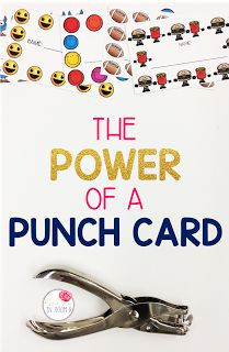 It amazing how much power a simple punch card can hold!  Here are 6 ways that you can start incorporating punch cards into your classroom today! My students find them highly motivating and it is a great incentive for students! Click to find out more!