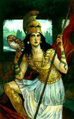 Athena by Rebecca Guay