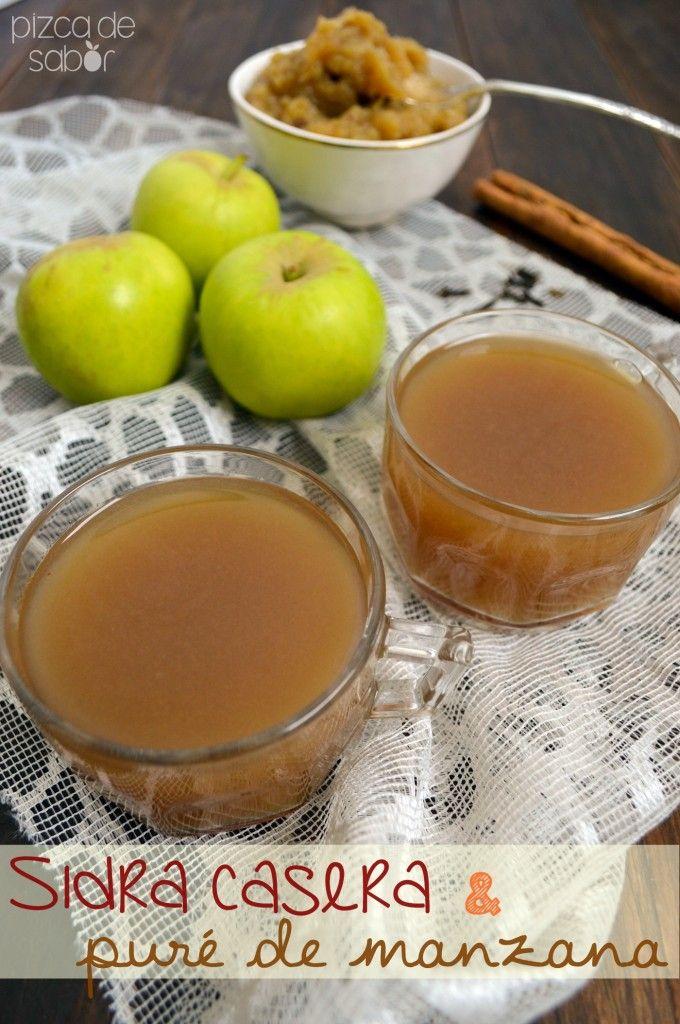 Sidra de manzana casera (especiada, fácil de preparar y deliciosa)