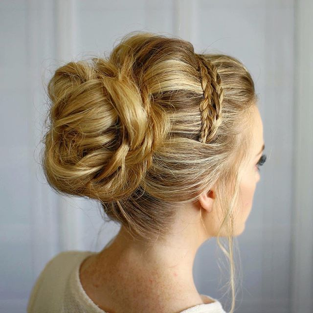 25+ Best Ideas About Headband Updo On Pinterest