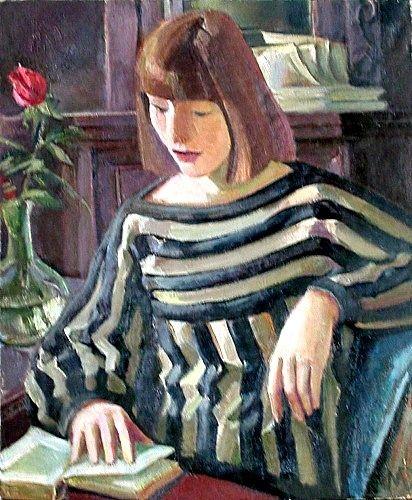 Reading and Art: Mara Vladimirovna Daugaviete