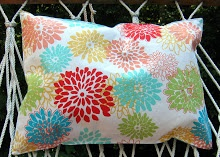 The Red Chair Blog: DIY Hammock Pillow Tutorial