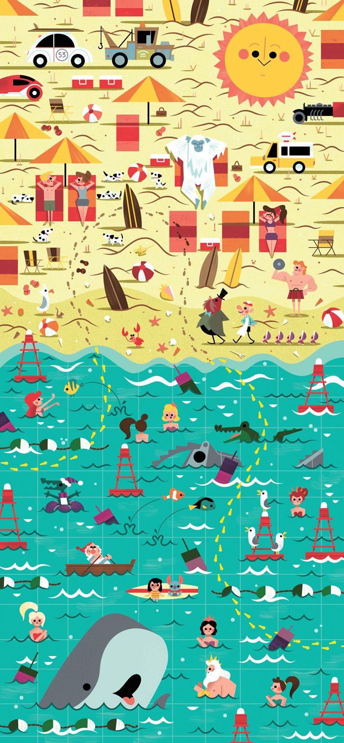 59 best images about summer wallpapers on pinterest for Poster mural 4 murs