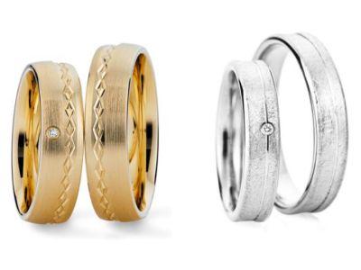 Sooo schön! Ringe wie vom Goldschmied, gefunden bei der Ringmanufaktur Johann Kaiser!