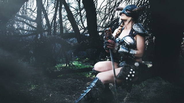 Just an amazing cosplay for Skyrim