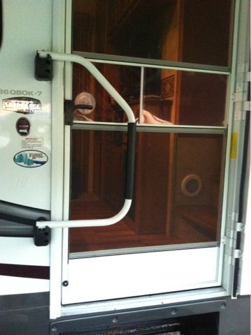 Learn To Rv Quick Tip Baby Proof Screen Door I Had To