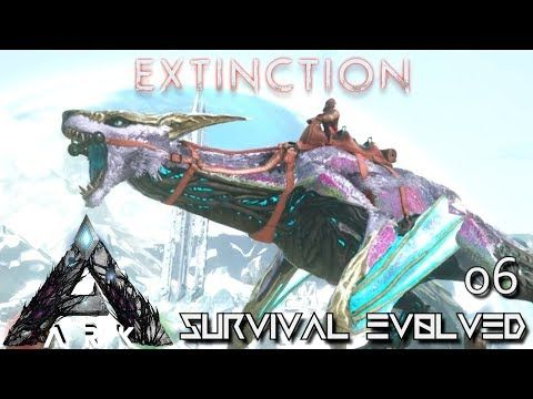 awesome ARK: EXTINCTION - NEW MANAGARMR MAX LEVEL TAMED