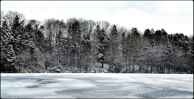 Oathill Lake,  Dartmouth,  NS Canada  winter  took pic with Samsung Galaxy phone