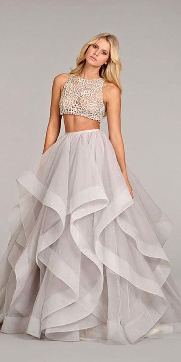 Bridal Separates Gowns And#8211; Breaking The Rules ❤ See more: http://www.weddingforward.com/breaking-the-rules-bridal-separates/ #weddings