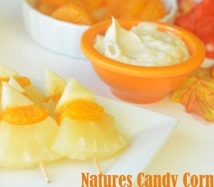 Nature's Candy Corn and Fruit Dip | Recipes