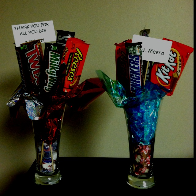 Cute teacher gift or nurses gift for this week. They both loved them!