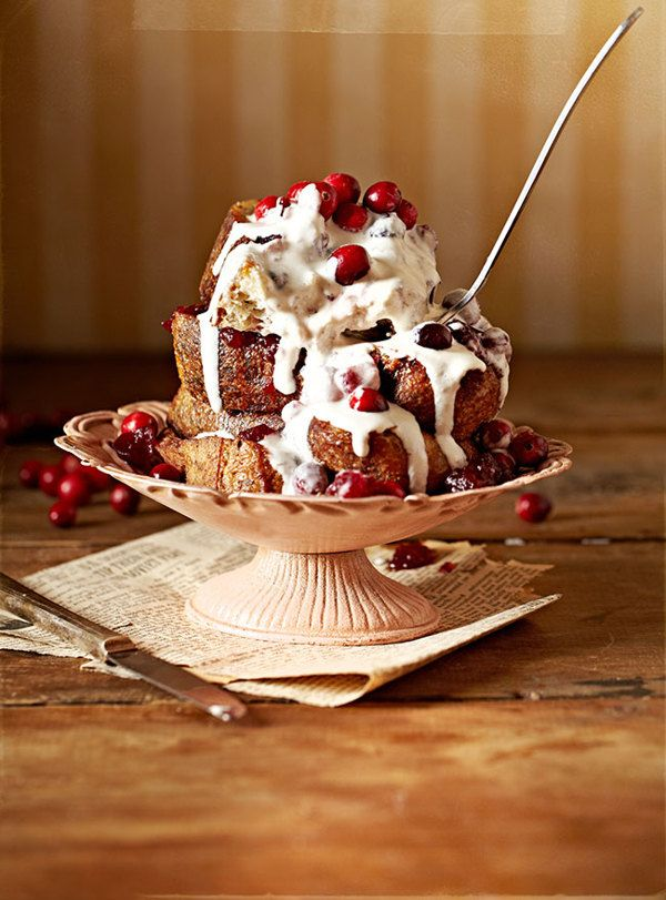 Cranberry Cream French Toast in the Morning by Vanessa Rees, via Behance
