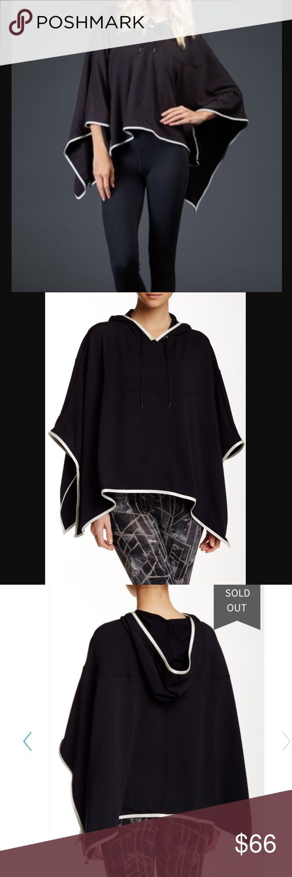 Zobha activewear hunter french terry black cape Brand new with tags. Retails at $120! Sold out on the Nordstrom website and online everywhere. Fits true to size - an adorable black cape! Very versatile! Zobha activewear hunter french terry black cape. Zobha Jackets & Coats Capes