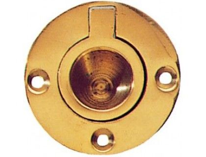 Circular Brass Flush Rings