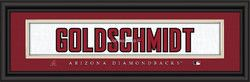 "Arizona Diamondbacks Paul Goldschmidt Print - Signature 8""x24"""