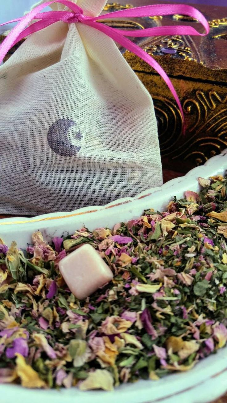 PRETTY IN PINK / Herbal V Steam / Yoni Tea / Organic Blend / Tea Bags / Yoni Steam / Moonstone / Crystal Infused / Wellness / Gifts For Her