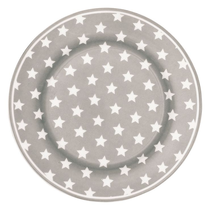 Plate Star warm grey.