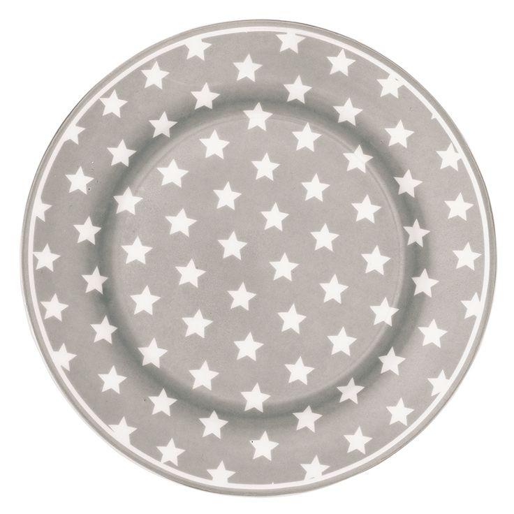 Plate Star warm grey.