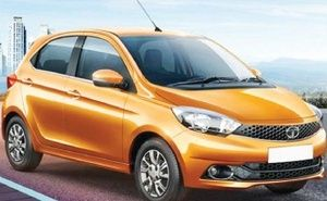 Automobile major Tata Motors on Wednesday launched its new hatchback -- Tiago.  The new hatchback comes with a starting price of Rs.3.20 lakh for the Revotron 1.2-litre (petrol) variant and Rs.3.94 lakh for the Revotorq 1.05-litre diesel (ex-showroom, New Delhi).