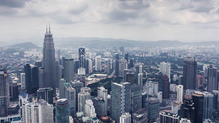 https://flic.kr/p/Kj1M8y | Kuala Lumpur skyline view