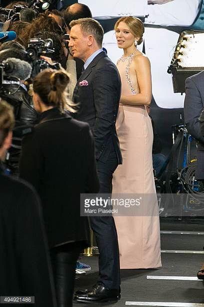 Actors Daniel Craig and Lea Seydoux attend the '007 Spectre' Paris Premiere at Le Grand Rex on October 29 2015 in Paris France