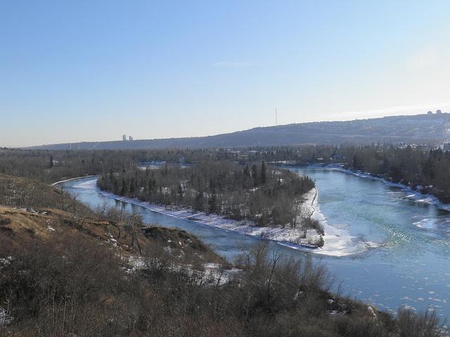 january 1 2012 bow river calgary