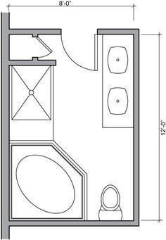 Master Bathroom Floor Plans | Bathroom Floor Plans - Bathroom Floor Plan  Design Gallery