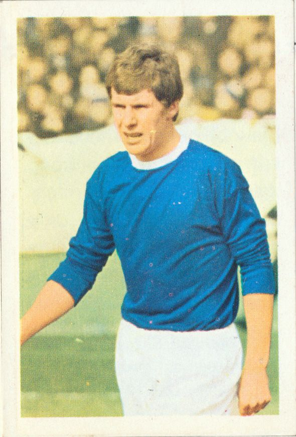 Joe Royle - Everton - as a player.