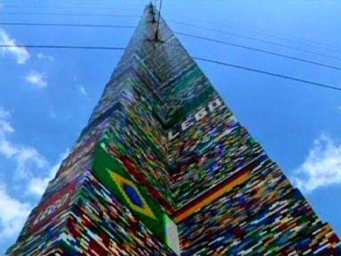 World's Biggest Lego Tower (500.000 stukjes)