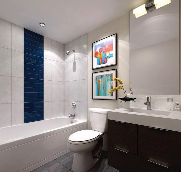Bathroom Design Toronto Awesome Beautiful #bathroom Design At 365 Church Street #toronto Condos Inspiration Design